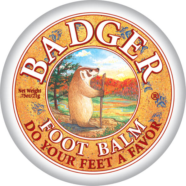 Badger-Mini foot balm 21g