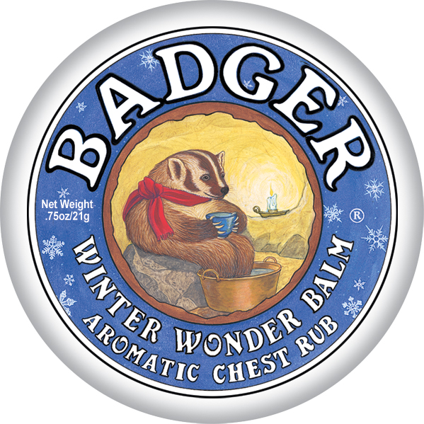 Badger-Aromatic chest rub (Winter wonder) 21g